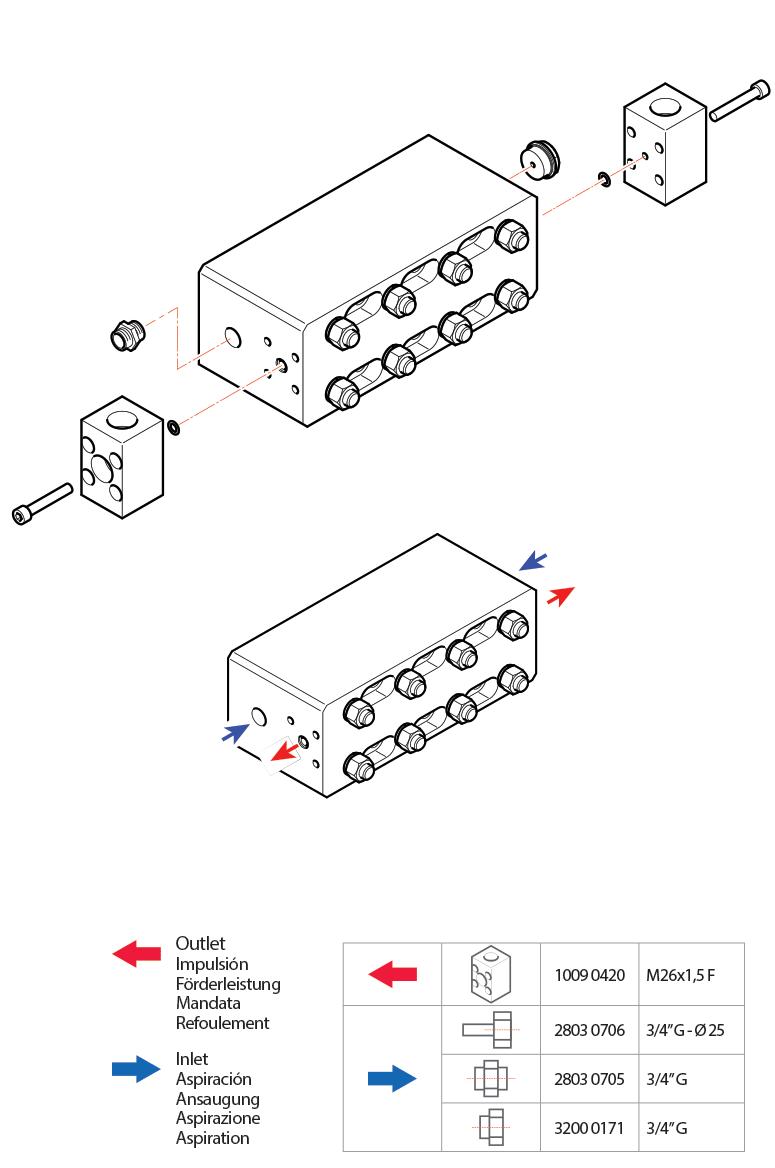 connection kit efv pumps hpp