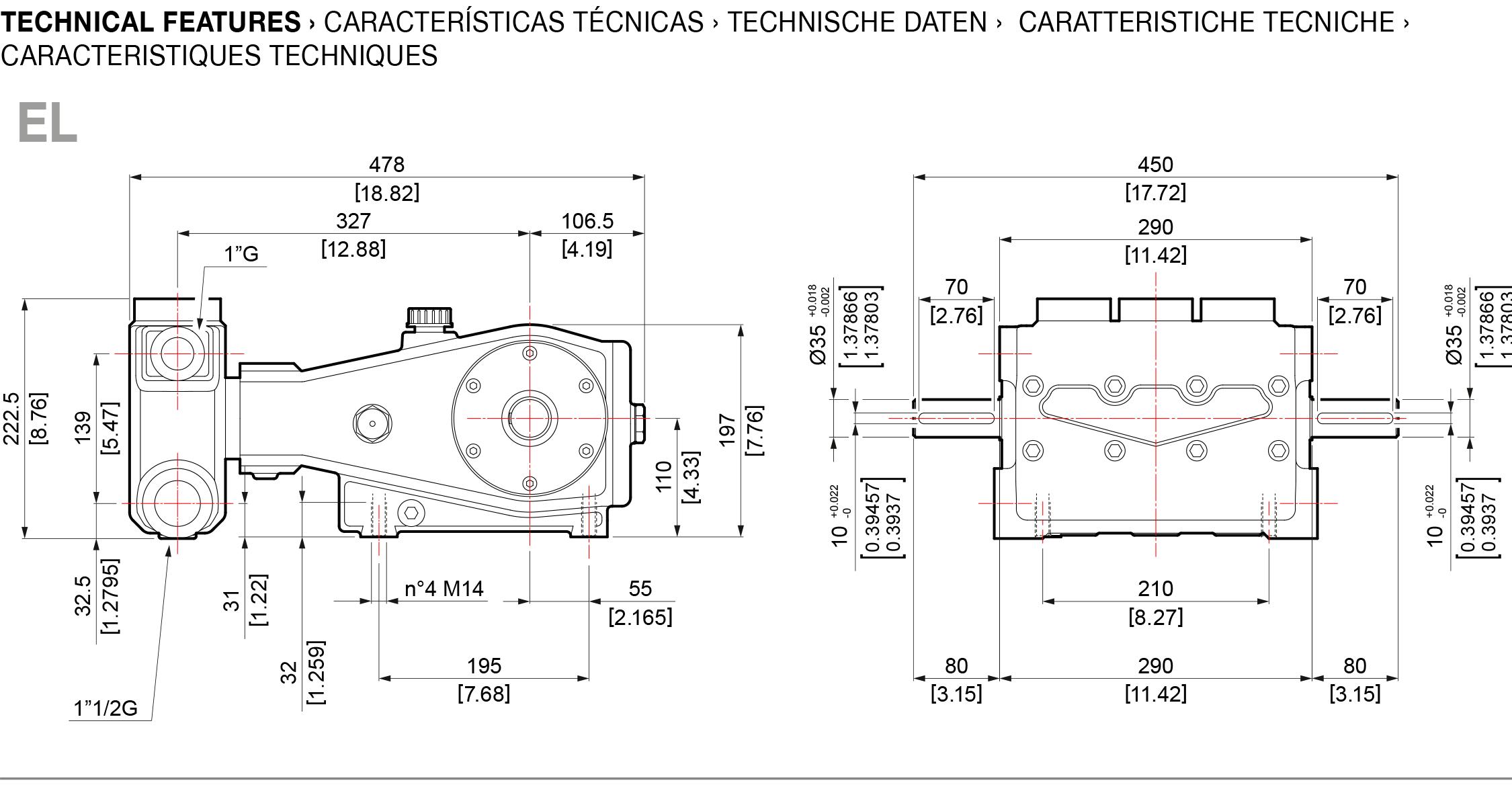 technical feature el hpp