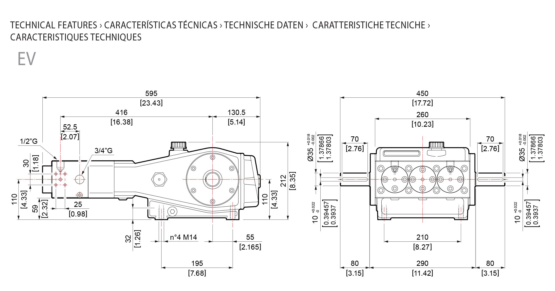 technical features ev hpp